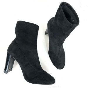 Michael Kors Black Ankle Boots Size 9.5